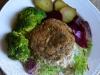 Burgery z zielonej soczewicy i pieczarek 02