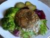 Burgery z zielonej soczewicy i pieczarek 03
