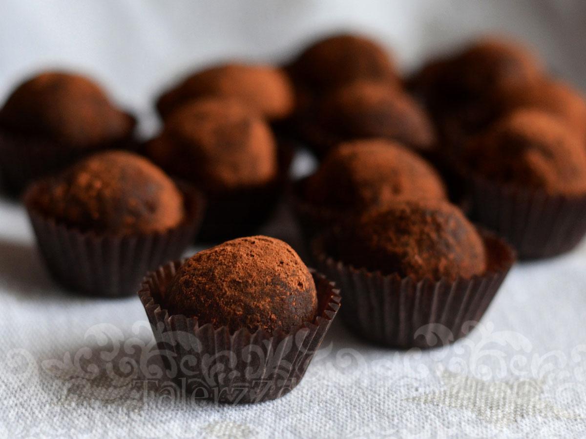 Trufle orzechowo kawowe