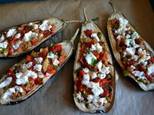 Baklazany zapiekane z papryka i pomidorami 03